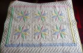 Handmade Amish baby Quilts and Baby Blankets for Sale & Amish Baby Blanket Starflower Pattern Adamdwight.com