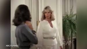 Linda Evans turns 75 - Dynasty star flaunts cleavage in sexy ...