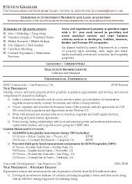 Commercial Real Estate Appraiser Sample Resume Commercial Real Estate Resume Template Corporate Manager 66
