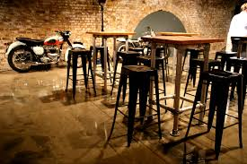 Event Decor London Industrial Stools And Tables Triumph Motorcycle Event
