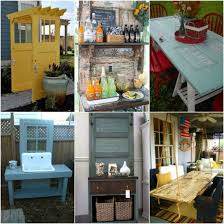clever ways to repurpose old doors and windows