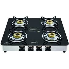 kitchen gas stove. Pigeon Blackline Square 4 Burner Gas Stove Auto Ignition Kitchen A