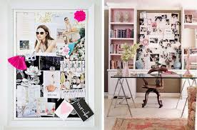 pink office decor. image via style me pretty pink office decor f