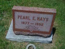Estella Pearl Marcum Hays (1877-1952) - Find A Grave Memorial