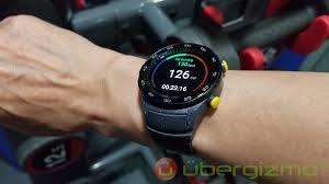 huawei watch 2 pro. over the three workout sessions i performed with watch 2, tested heart rate sensor against indoor bicycle pulse placed on handles. huawei 2 pro