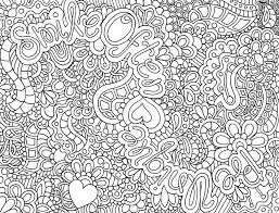 Small Picture Difficult Abstract Coloring PagesFree Coloring Pages For Kids