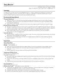 Resume Templates: School Bus Driver