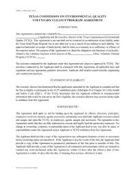 Are you an employee yourself? Vcp Agreement Form Texas Commission On Environmental Quality