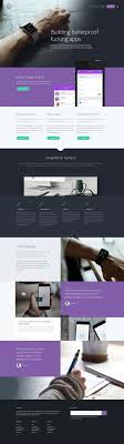 Tech Startup Web Design Tork Is Free One Page Landing Page Template That Suitable