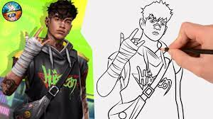 13,131 free images of fire. Free Fire Drawing Shirou Bundle Character How To Draw Free Fire Gambar Free Fire Youtube