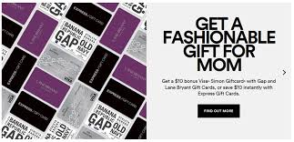 simon malls mother s day promotion t s coffee gift cards