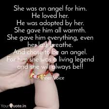 She Was An Angel For Him Quotes Writings By Dishita Ranjan