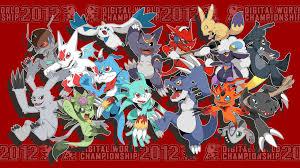 Digimon World Championship Digivolution Chart Digimon World Championship 2012 By Seiryuuden Deviantart Com