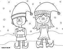 Small Picture 84 best elfs images on Pinterest Christmas elf Drawings and