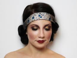 makeup finished look flapper makeup tutorial for