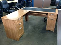 realspace magellan collection l shaped desk collection corner desk honey review collection