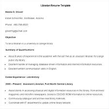 Librarian Resume Examples Inspiration Librarian Resume Sample Library Science Template Best Solutions Of
