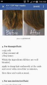 diy hair mask coconut oil how to take care hair after temporary straightening and keep it