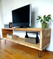 reclaimed wood media unit by do it yourself stand with mount tv 55 inch target rustic