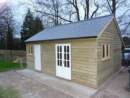 timber garden office. Wooden Garden Summer Houses, And Offices Designed Constructed By Kingsland, Furnished With A Moisture Barrier Lining Of Choice. Timber Office E