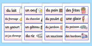 vocab cards with pictures french food vocabulary cards france language eal vocab cards