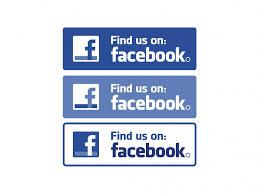 Facebook Find Us On Vector Logo Logowik Com