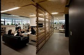 modern office lounge. meeting lounge of fresh and modern office interior d