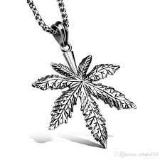 whole steel color fashion men s maple leaf pendant necklace stainless steel link chain necklace jewelry gift for men boys 1094 owl pendant necklace