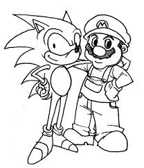 Sonic The Hedgehog Coloring Pages Getcoloringpagescom