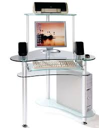 computer desks glass interior mesmerizing glass computer desks for small spaces with additional home remodel ideas computer desks glass