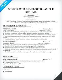 Java Developer Sample Resume Zromtk Inspiration Experience Java Resume