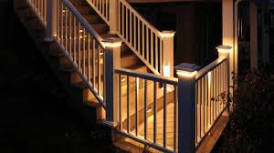 deck stair lighting ideas. image of install deck stair lights lighting ideas