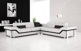 rimini white corner sofa