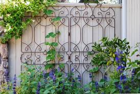 Graceful Metal Trellis And Planters For Backyard Amazing Metal Trellis For  Garden Ideas Metal Plant Trellis Decorative Trellises Iron Trellis For  Garden .