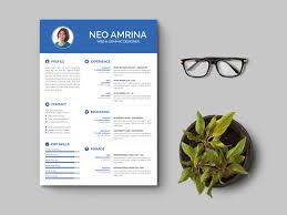 Free Simple Psd Resume Template By Andy Williams On Dribbble