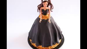 Simple Vintage Fondant Doll Cake Rosies Dessert Spot Youtube