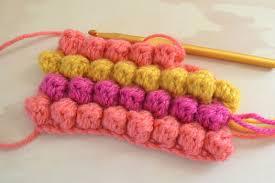 Bobble Stitch Crochet Pattern