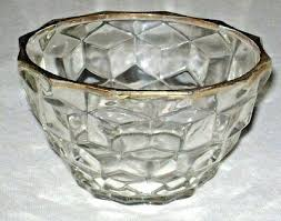 crystal glass bowl vintage pattern crystal glass bowl gold rim crystal glass fruit bowl s crystal glass bowl