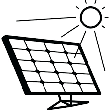 Solar Energy Coloring Sheets Panels Solar Power Plant Free Pages