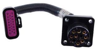 wiring harnesses marine engine parts fishing tackle basic adaptor harness mefi 5 to 9 pin round