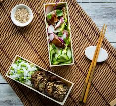 Simple Steak Teriyaki Bento Box Recipe - Japan Centre
