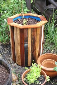 diy octagonal garden planter project