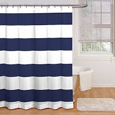 Refresh your bathroom with this bold cabana stripe shower curtain, in a  classic, cool