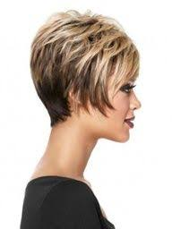 short stacked hairstyles for fine hair the back is tapered into the neck blending into the