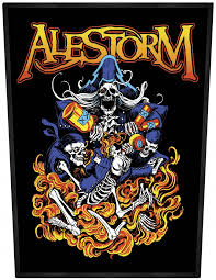 entry levle alestorm pirate entry level backpatch