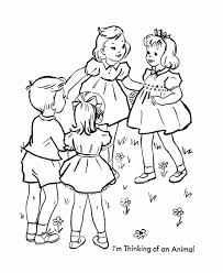Color the pictures online or print them to color them with your paints or crayons. Coloring Pages Of Kids Playing Coloring Home