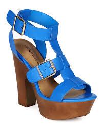 new women breckelles renee21 open toe strappy buckle