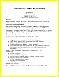Inventory Analyst Resume Sample inventory control analyst resume Funfpandroidco 2