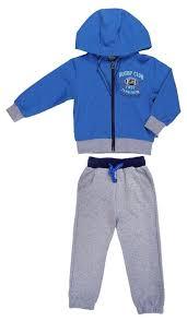 Купить <b>Комплект</b> одежды Sweet Berry размер 86, синий/серый ...