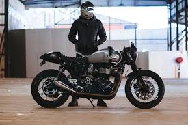 andre s triumph thruxton cafe racer